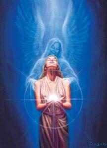 angel med healing